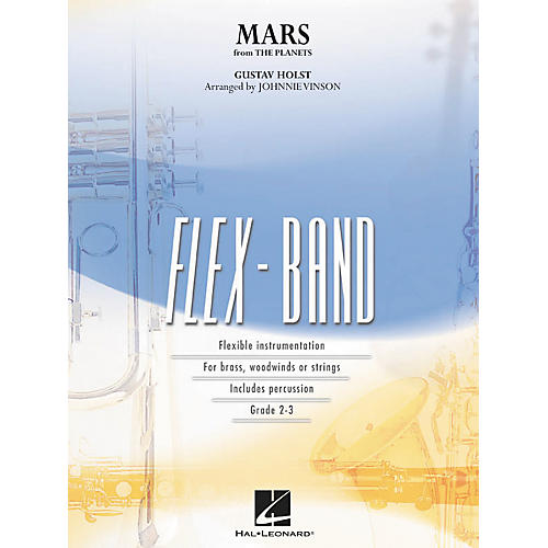 Hal Leonard Mars (From The Planets ) - Flex-Band Series (Book)-thumbnail