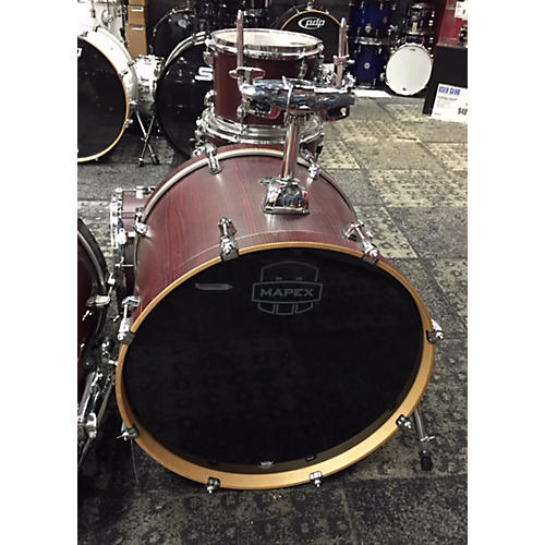 Mapex Mars Fusion 5 Pc Drumkit Drum Kit bloodwood red