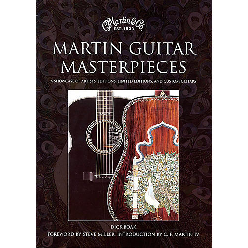 Hal Leonard Martin Guitar Masterpieces - A Showcase Of Artist's Editions Limited Editions And Custom-thumbnail