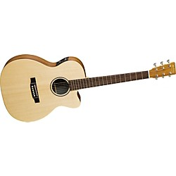 Martin X Series OMCX1KE Cutaway Acoustic-Electric Guitar (OMCX1KE)