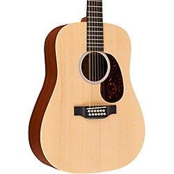 Martin X1-D12E Custom Dreadnought 12-String Acoustic-Electric Solid Spruce Top HPL Back & Sides