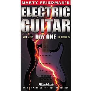 Hal Leonard Marty Friedmans Electric Guitar Day One Video by Hal Leonard