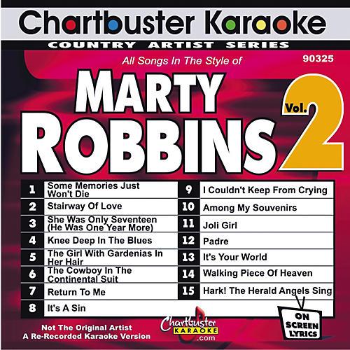 Chartbuster Karaoke Marty Robbins Volume 2 Karaoke CD+G
