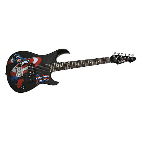 Peavey Marvel Captain America 3/4 Size Electric Guitar