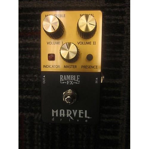 In Store Used Marvel Drive Effect Pedal-thumbnail