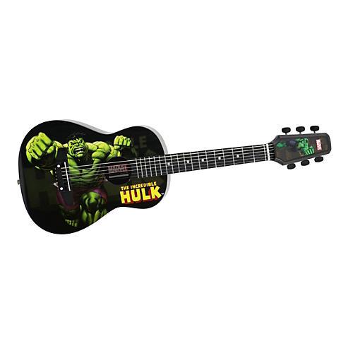 Peavey Marvel Hulk 1/2 Size Acoustic Guitar-thumbnail