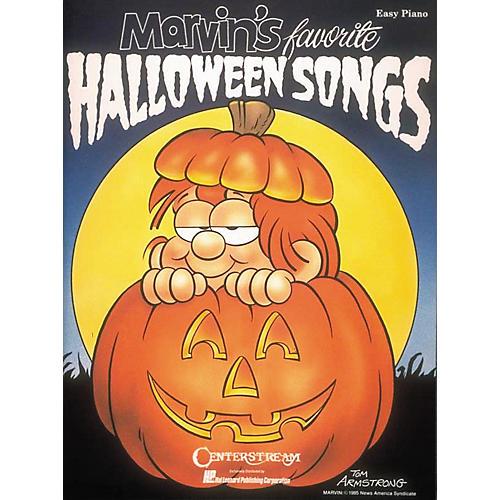 Hal Leonard Marvin's Favorite Halloween Songs Easy Piano Book-thumbnail
