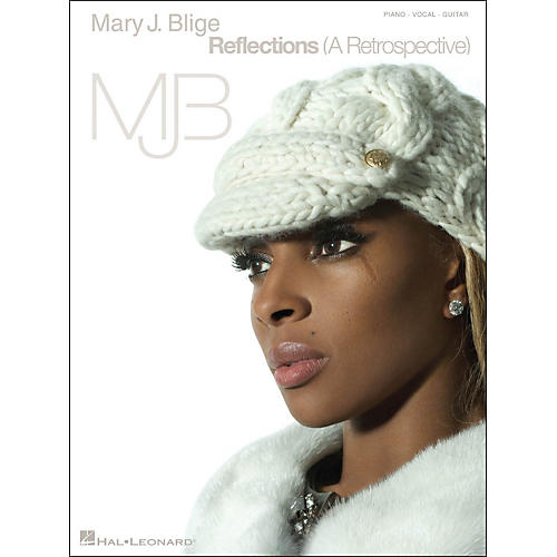 Hal Leonard Mary J. Blige Reflections (A Retrospective) arranged for piano, vocal, and guitar (P/V/G)-thumbnail