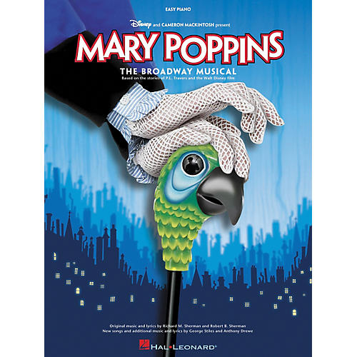 Hal Leonard Mary Poppins The Musical For Easy Piano-thumbnail