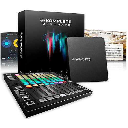 Native Instruments Maschine JAM with KOMPLETE 11 Ultimate-thumbnail
