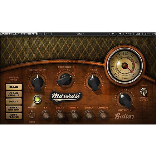 Waves Maserati Gti Native/SG Software Download