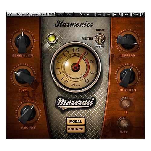 Waves Maserati HMX Harmonics Generator Plug-in Native Software Download-thumbnail