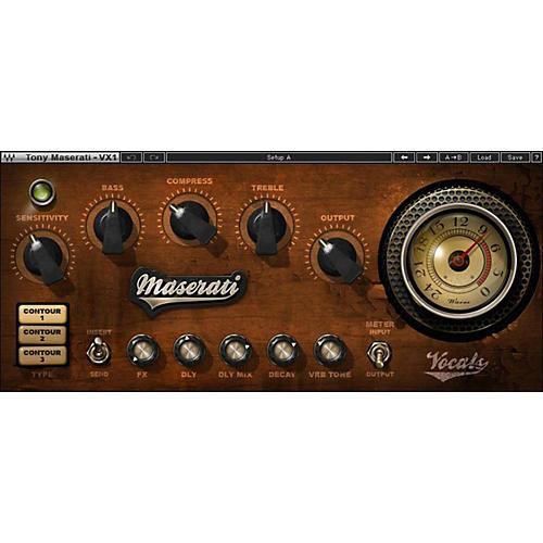 Waves Maserati VX1 Native/SG Software Download