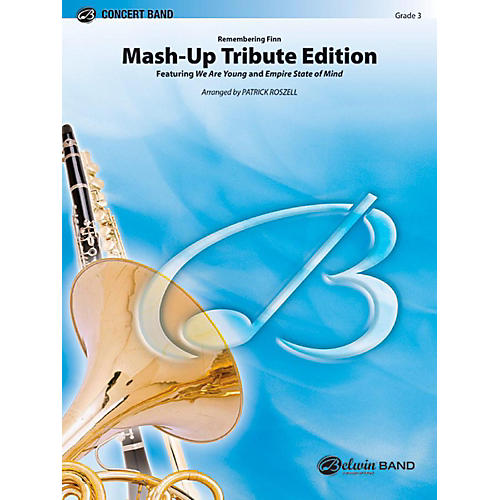 Alfred Mash-Up Tribute Edition (Remembering Finn - featured on Glee) Concert Band Level 3 Set