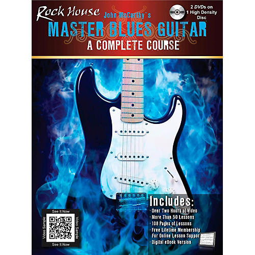Hal Leonard Master Blues Guitar - A Complete Course Book/High Density DVD-thumbnail