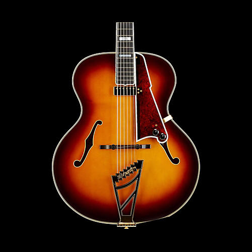 D'Angelico Master Builder 1942 Excel Hollowbody Electric Guitar Sunburst