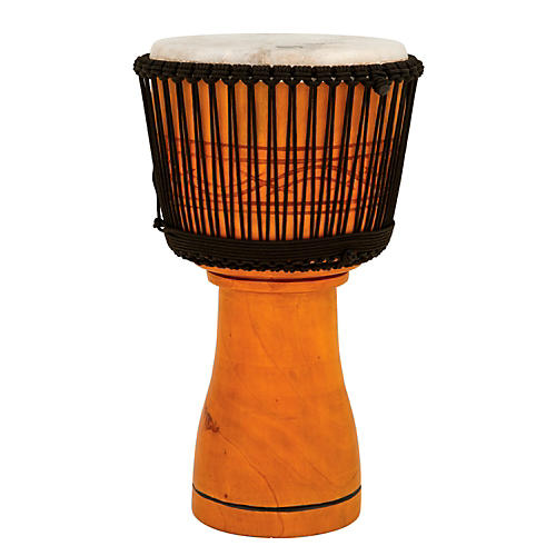 Toca Master Series Djembe with Padded Bag Natural Finish 13 in.