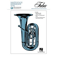 Hal Leonard Master Solos Intermediate Level - Tuba (B.C.) (Book/CD Pack) Master Solos Series Softcover with CD