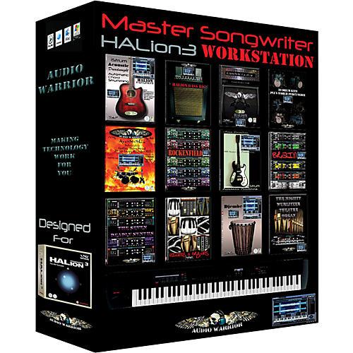 AudioWarrior Master Songwriter HALion Sample Workstation