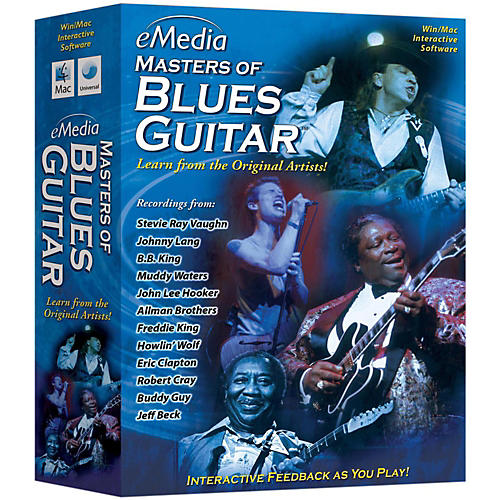 Emedia Master of Blues Guitar CDROM-thumbnail
