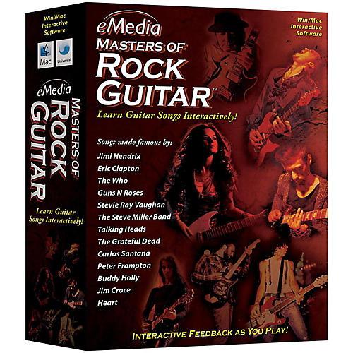 Emedia Master of Rock Guitar CD-ROM
