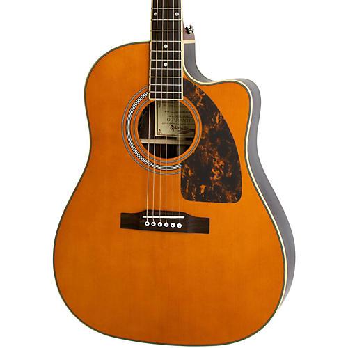 Epiphone Aj  Natural Acoustic Guitar Review