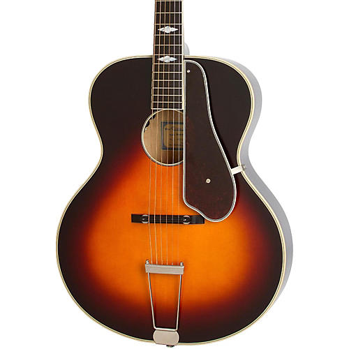 Epiphone Masterbilt Century Collection De Luxe Archtop Acoustic-Electric Guitar Vintage Sunburst