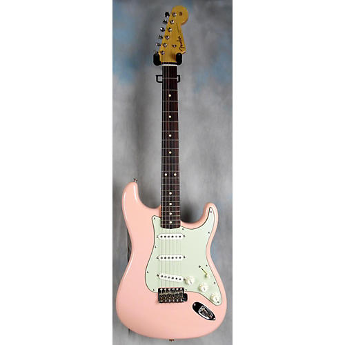 Fender Masterbuilt By John Cruz 1959 Nos Stratocaster Solid Body Electric Guitar Pink