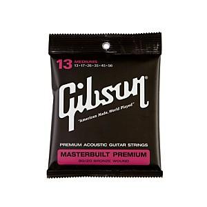Gibson Masterbuilt Premium 80 20 Bronze Medium Acoustic Guitar Strings by Gibson