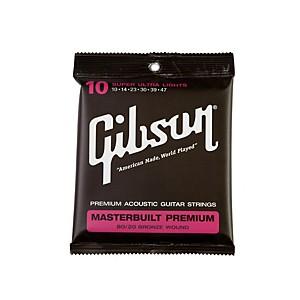 Gibson Masterbuilt Premium 80 20 Bronze Super Ultra Light Acoustic Guitar S... by Gibson