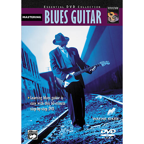 Alfred Mastering Blues Guitar (Book/DVD)-thumbnail