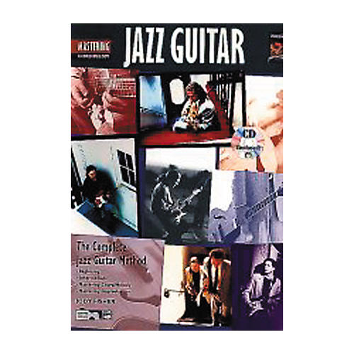 Alfred Mastering Jazz Guitar - Chord/Melody Book/CD-thumbnail