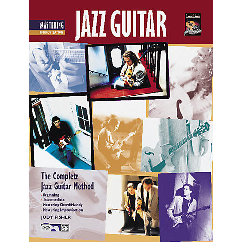 Alfred Mastering Jazz Guitar: Improvisation (Book/CD)