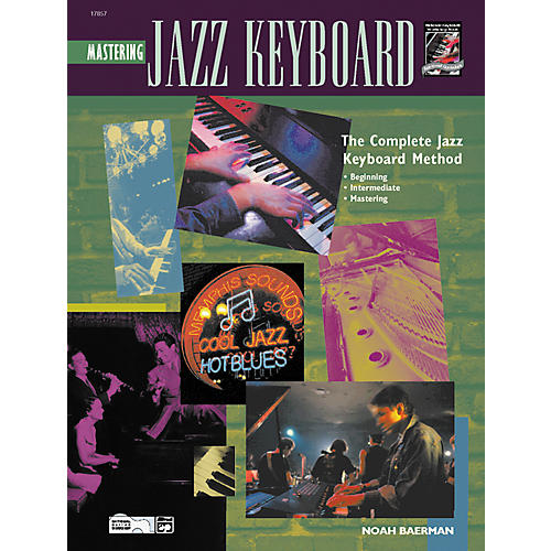 Alfred Mastering Jazz Keyboard (Book/CD)-thumbnail