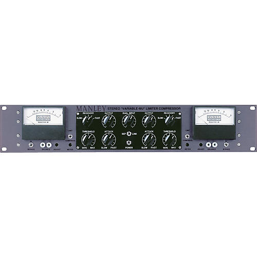 Manley Mastering Stereo Variable Mu Limiter Compressor-thumbnail