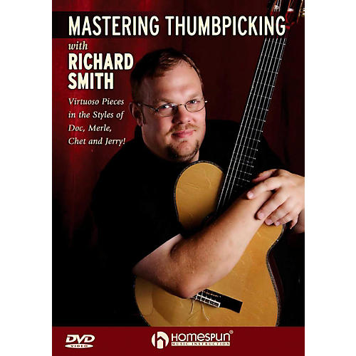Homespun Mastering Thumbpicking With Richard Smith DVD-thumbnail