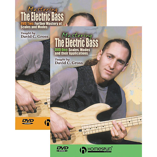 Homespun Mastering the Electric Bass 2-DVD Set-thumbnail
