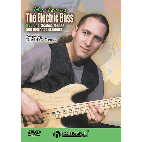 Centerstream Publishing Mastering the Electric Bass: Scales 1 (DVD)-thumbnail