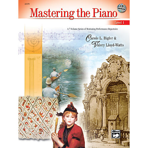 Alfred Mastering the Piano Level 1 Book & CD 1-thumbnail