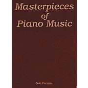 Carl Fischer Masterpieces Of Piano Music