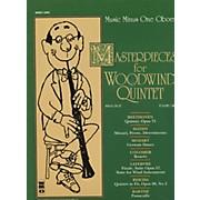 Hal Leonard Masterpieces for Woodwind Quintet Oboe