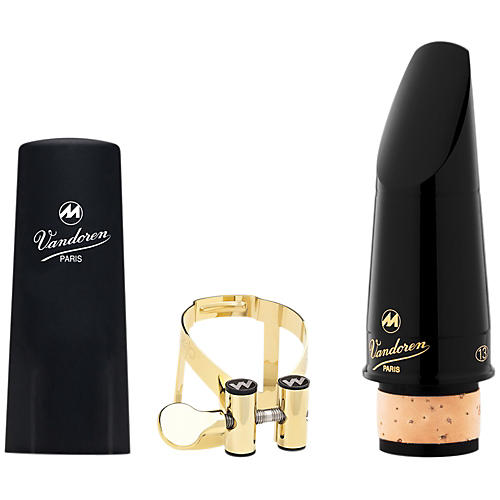 Vandoren Masters 13 Series Bb Clarinet Mouthpiece CL6 Facing M/O 24K Gold Ligature