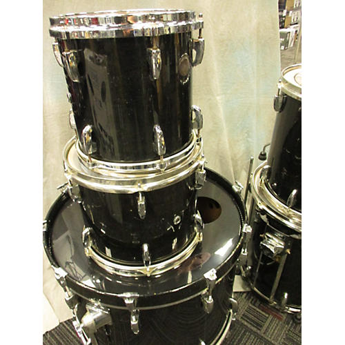 Pearl Masters Custom Drum Kit Black