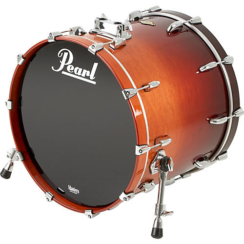 Pearl Masters MCX Bass Drum 22 x 18 in. Chestnut Fade