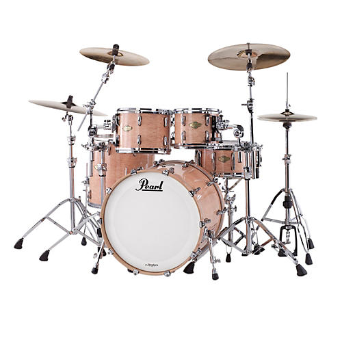 Pearl Masters MCX Series 4-Piece Shell Pack Natural Birdseye Maple