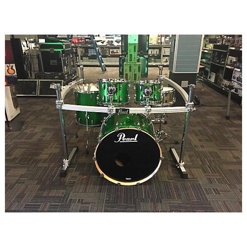 Pearl Masters MCX Series Drum Kit Shamrock Green