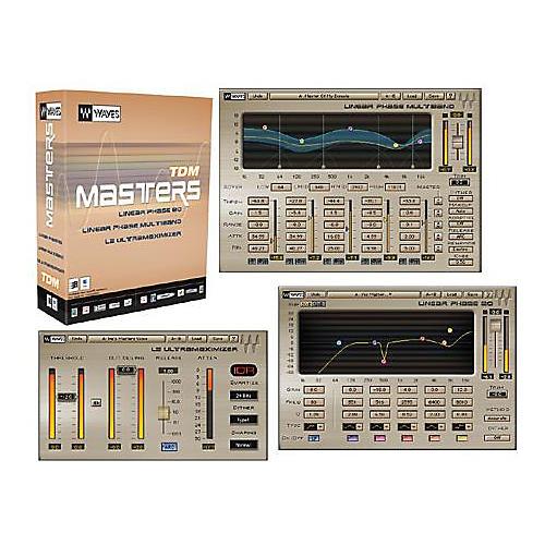 Waves Masters TDM Plug-In Bundle Hybrid CD Win/Mac-thumbnail
