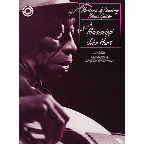 Alfred Masters of Country Blues Guitar Series - The Mississippi John Hurt (2 CDs)-thumbnail