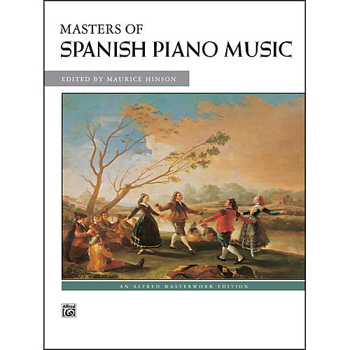 Alfred Masters of Spanish Piano Music-thumbnail
