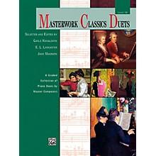 Alfred Masterwork Classics Duets Level 10 Early Advanced / Advanced
